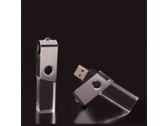 S600 水晶旋轉隨身碟 (Crystal style Swivel usb flash drive)