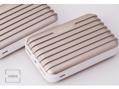 SPB08 行李箱造型行動電源(Suitcase Style External Battery Power Bank)7800mAh