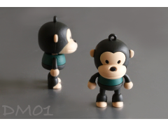 DM01 猴子造型隨身碟(PVC Cute Monkey style USB Flash Drive)