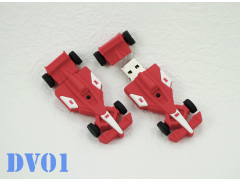 DV01 賽車造型隨身碟(PVC Racing Car USB Flash Drive)