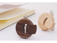 W300 圓型木質隨身碟(Rounded Wooden Flash Drive)