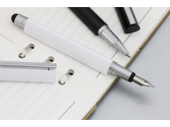 iT13s 三角電容式觸控鋼筆(2 in 1 Capacitive Stylus with Fountain pen)