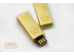 GB100s 迷你金塊碟(USB Gold Bullion Flash Drive)