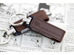 USB 3.0 | L600 書夾型皮革隨身碟(Leather Key-Chain style USB Flash Drive)