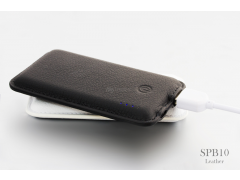 SPB10 皮革行動電源(Leather External Battery Power Bank)4000mAh