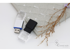 S2000 伸縮式壓克力水晶碟 (Retractable Crystal Style USB Flash Drive)