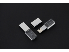 USB 3.0 | S700 金屬蓋水晶隨身碟 | Crystal style usb flash drive with metal cover |