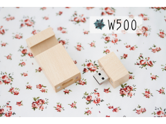 W500 木質手機架隨身碟(Wooden mobile Stand Holder with USB Flash Drive)