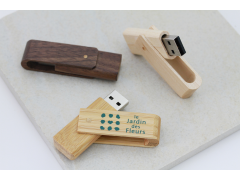 W600 木質旋轉隨身碟(Wooden Swivel Flash Drive)